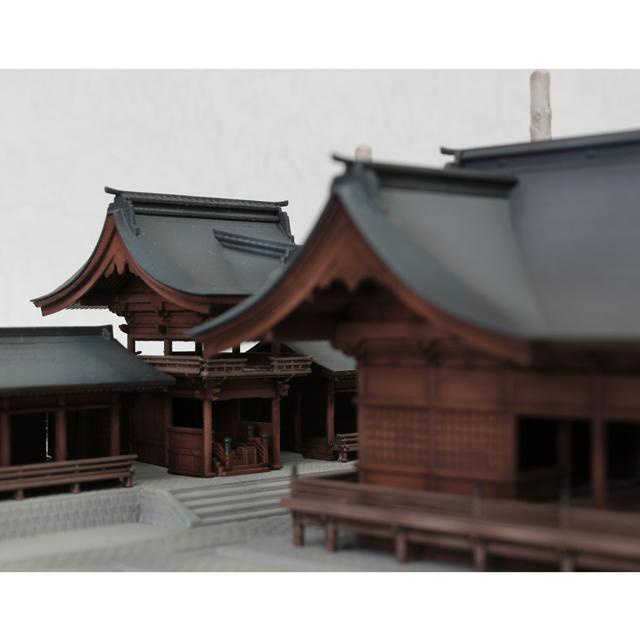 1/150スケール「諏訪大社 下社秋宮」PLUM(プラム)ホームページ ...
